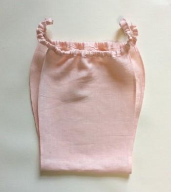 リネン製ふんどしパンツ・ピンク(もっこふんどし)