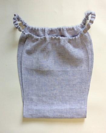 リネン製ふんどしパンツ・ラベンダー(もっこふんどし)