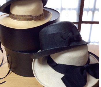帽子・革小物コモノ作品