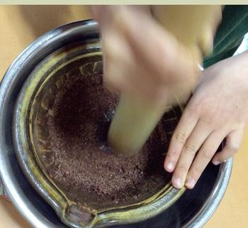 カカオニブからチョコレート作り